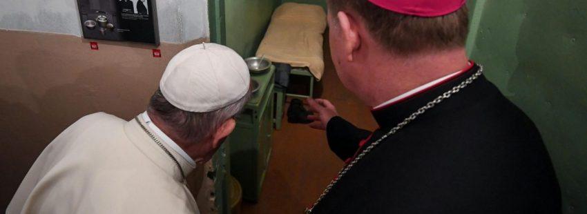 El Papa, en el Museo de la Ocupación y la Lucha por la Libertad de Lituania/EFE