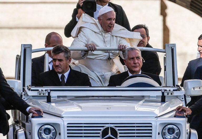 El papa Francisco, en la audiencia general de hoy 12 de septiembre