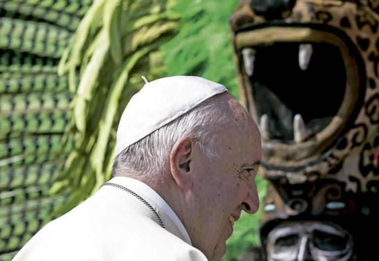 El papa Francisco, en una audiencia en San Pedro