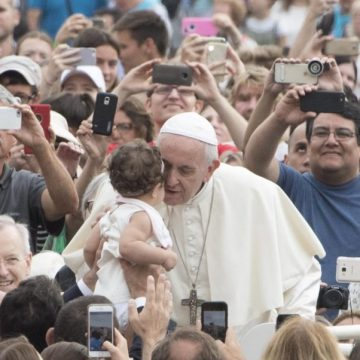 El Papa Francisco, en la audiencia general del 19 de septiembre/EFE