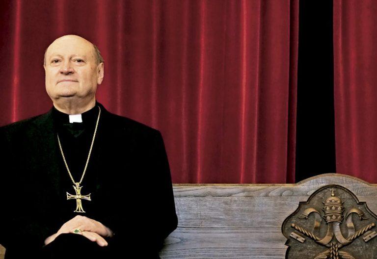 El cardenal Gianfranco Ravasi en unas jornadas en la UPSA