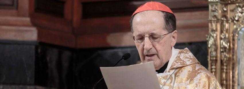 Beniamino Stella, cardenal prefecto de la Congregación para el Clero