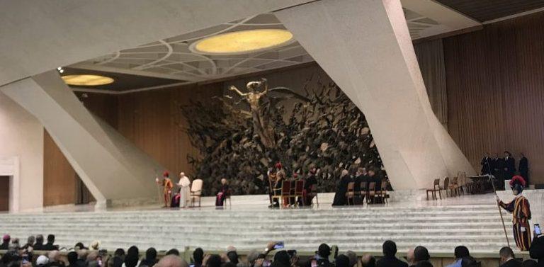 El papa Francisco preside una audiencia con motivo de la canonización de Oscar Romero