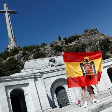 Imagen de la explanada del Valle de los Caídos/EFE