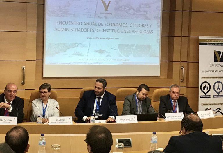 Encuentro de Ecónomos, Gestores y Administradores de Instituciones Religiosas Grupo Valía