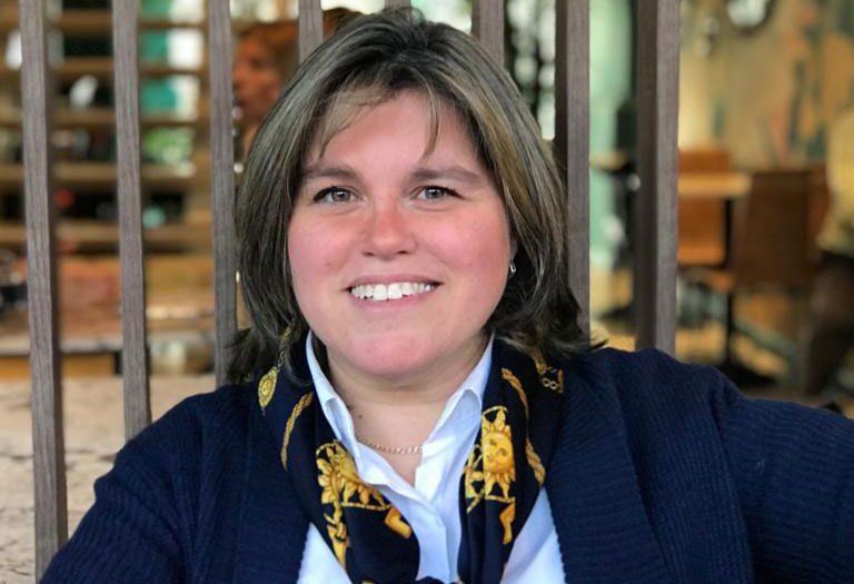 Carolina Mancini, autora de 'Libres y alegres en el Señor' (Narcea)