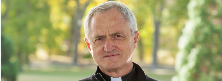 César Izquierdo, profesor de Teología en Navarra
