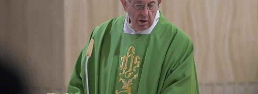 Homilia Francisco Santa Marta