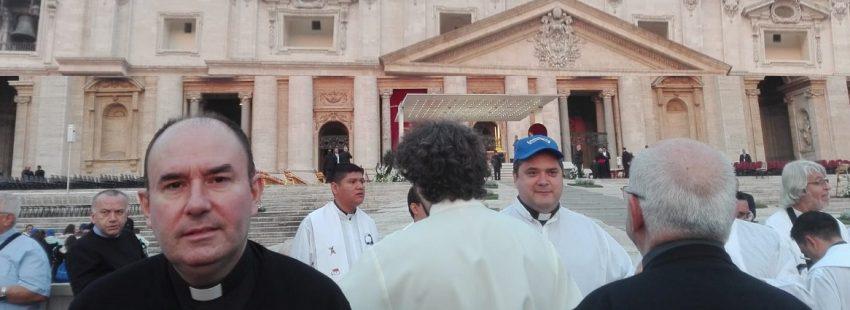 Juan Manuel Rio, nuevo parroco de la parroquia Pablo VI en Madrid