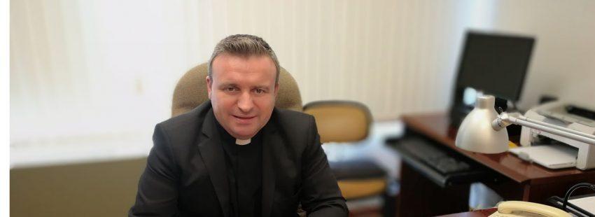 Luis Manuel Romero, director del Secretariado de la Comisión Episcopal de Apostolado Seglar de la Conferencia Episcopal Española