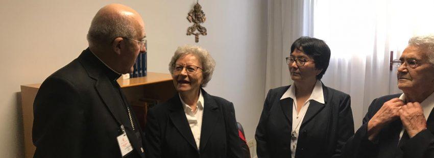 Misioneras Cruzadas de la Iglesia, canonización Madre Nazaria Vaticano