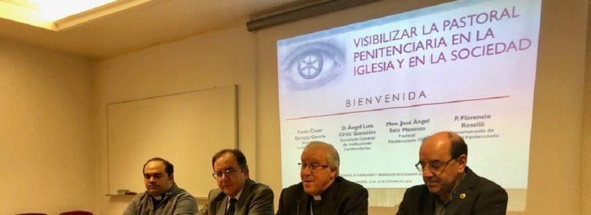Florencio Roselló en la XXX Jornadas de Pastoral Penitenciaria