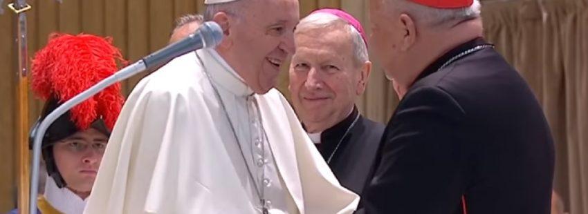 audiencia del Papa con los peregrinos de Cracovia el 10 de octubre de 2018