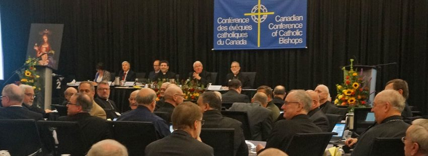 Los obispos de Canadá, en su Asamblea Plenaria
