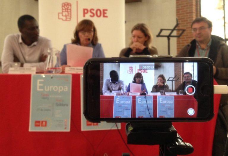IV Convención de Cristianos Socialistas con Natalia Peiro, secretaria general de Cáritas