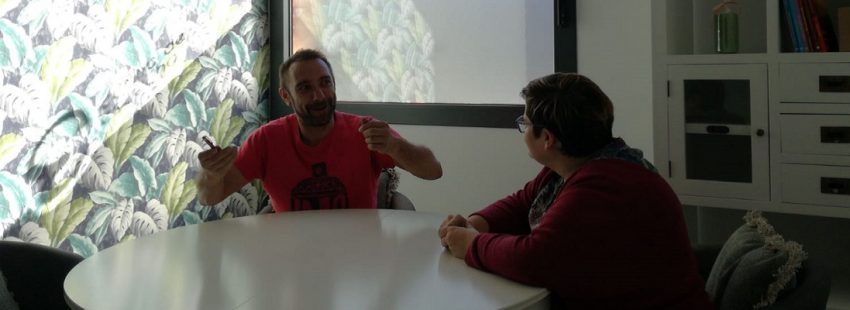 Casa de Escucha de la Cruz Blanca en Huesca