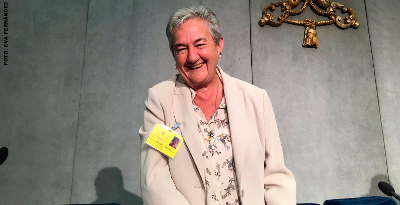 María Luisa Berzosa, en el Sínodo