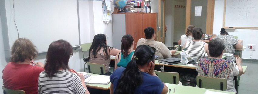 Mujeres en el proyecto La paloma de Jesed, Cáritas de Toledo