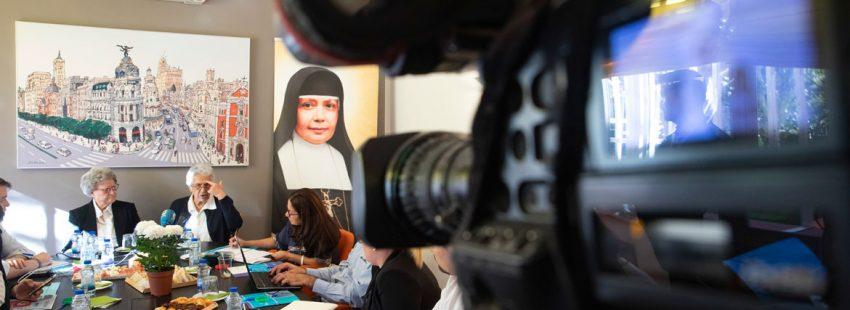Desayuno informativo canonización Madre Nazaria