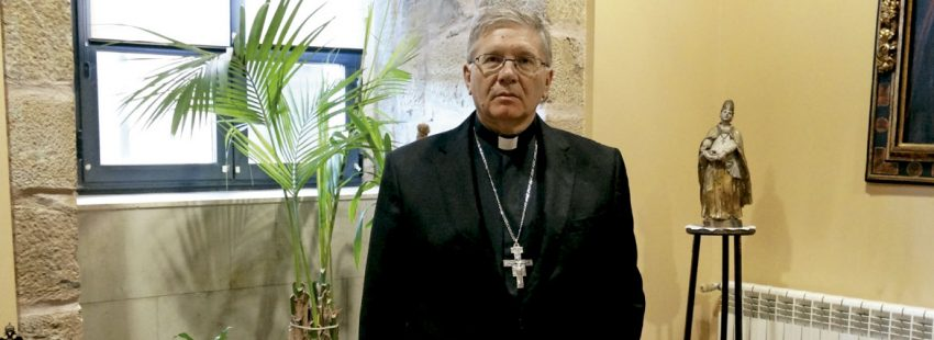 El obispo de Astorga, Juan Antonio Menéndez