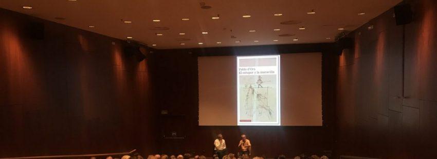 """Pablo dOrs presenta su libro """"El estupor y la maravilla"""""""