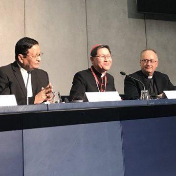 cardenal tagle rueda de prensa sinodo de los obispos