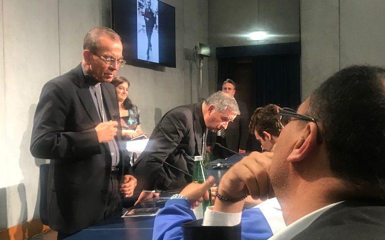 Rueda de prensa por las canonizaciones de Oscar Romero y Pavlo VI