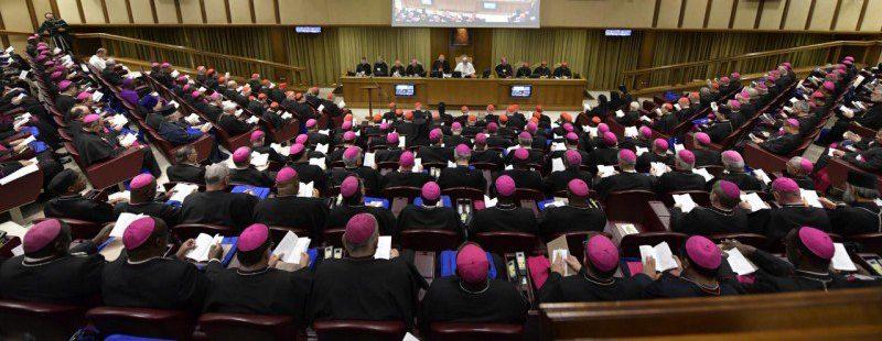 El aula del Sínodo de los Obispos, en la clausura de los trabajos