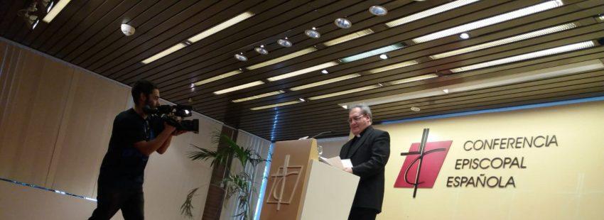José María Gil Tamayo, secretario general de la Conferencia Episcopal Española