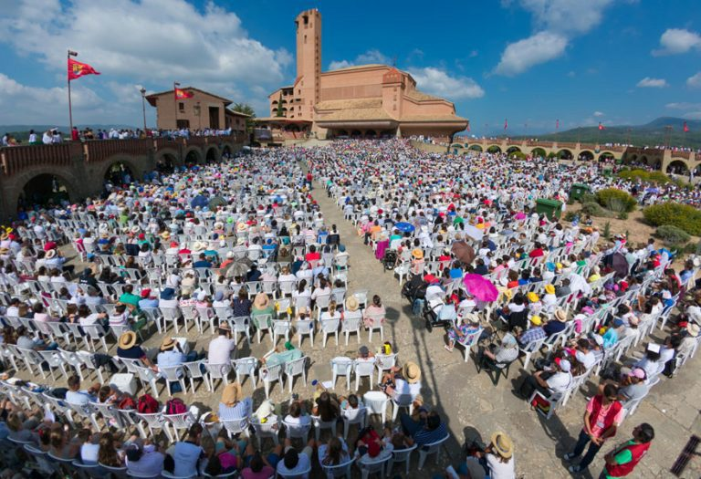 Torreciudad Opus Dei foto del Flickr del Opus hecha por Álvaro García