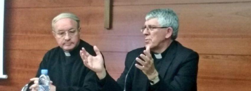 Martín Barrios en la clausura de las Jornadas para vicarios de Pastoral