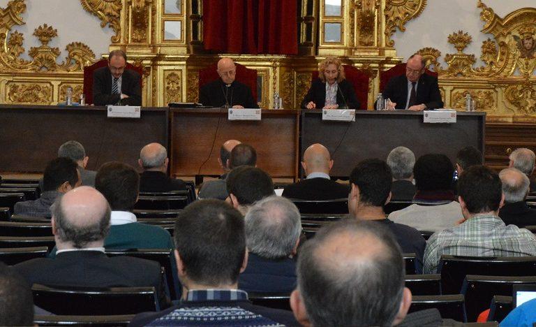 Blazquez en las jornadas de teología de la UPSA