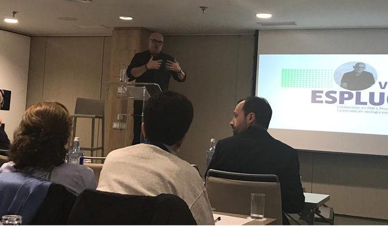 Vicente Espluges en el congreso REinspira 2018