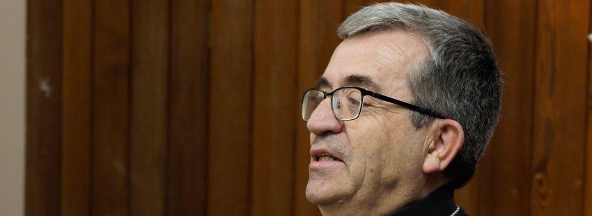 Luis Argüello, obispo auxiliar de Valladolid y secretario general de la Conferencia Episcopal Española