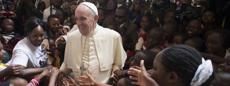 El papa Francisco en Nairobi, durante su visita a Kenia en 2015
