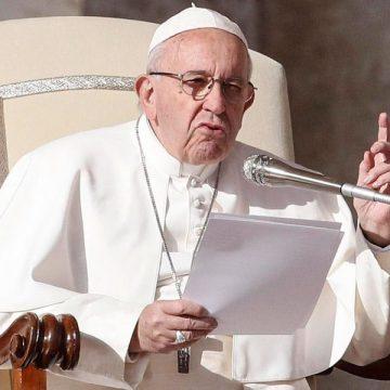 El papa Francisco en la audiencia general del 14 de noviembre de 2018