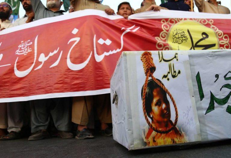 Un grupo de islamistas protesta contra la absolución de Asia Bibi/Efe