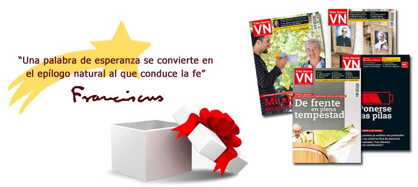 campaña navidad suscribirse a Vida Nueva 2018