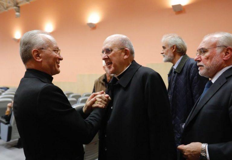 Angelo Vincenzo Zani, Carlos Osoro y José María Felices