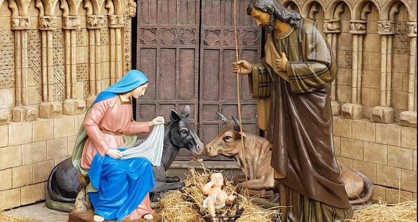 c7e69937268 La noche del 29 de diciembre el belén del Ayuntamiento de Logroño cobrará  vida gracias a la iniciativa de repartir 1.000 velas entre los vecinos  presentes ...