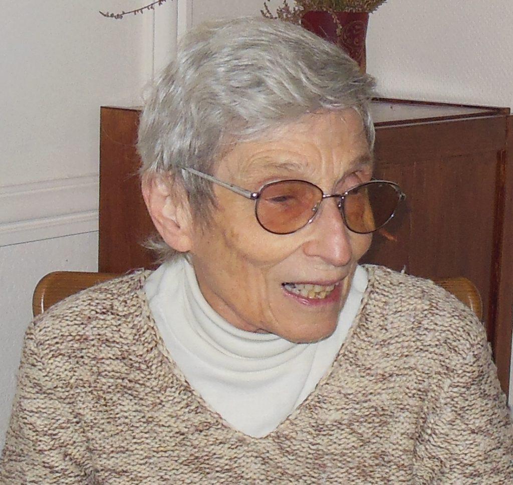 Chantal, hermanita del Sagrado Corazón de Carlos de Foucauld