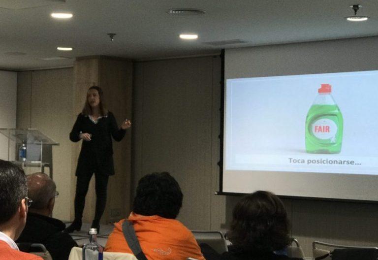 Natalia Sánchez de León en el Congreso REinspira de Marketing Religioso