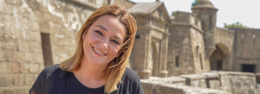 La periodista Toñi Moreno