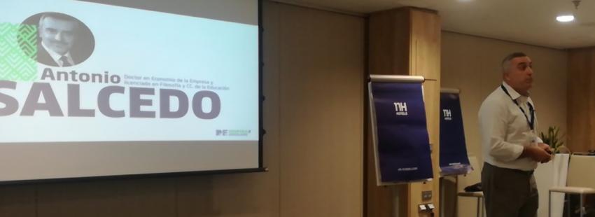 Antonio Salcedo, en el Congreso de Marketing REinspira