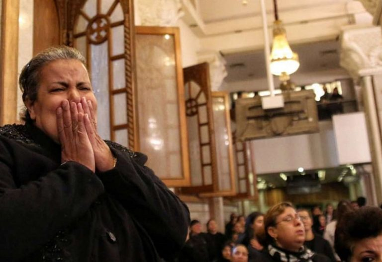 atentados a una iglesia catolica en egipto