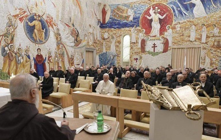 Padre Raniero Cantalamessa, predicador de la Casa Pontificia