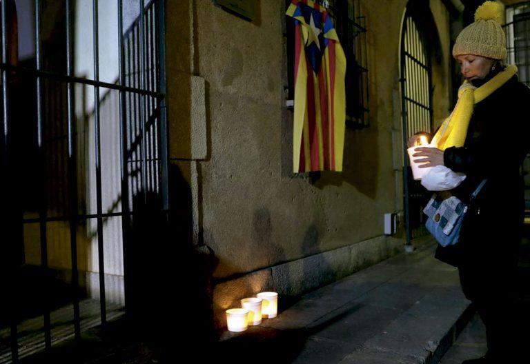Vigilia de oración por los políticos presos del procés en Cataluña
