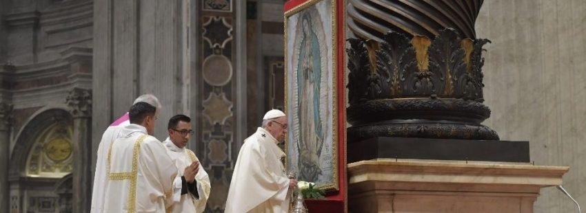 celebracion misa virgen guadalupe vaticano