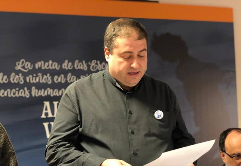 Ivan Ruiz Cortizo, provincial de Escolapios Betania