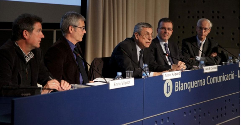 Josep Maria Carbonell, presidente de la Fundación Joan Maragall